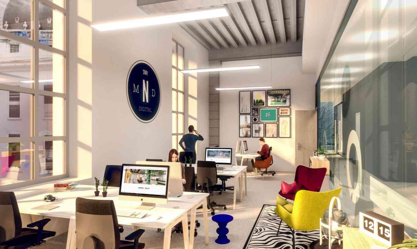 Futur coworking Nextdoor Lyon Grand Hotel Dieu