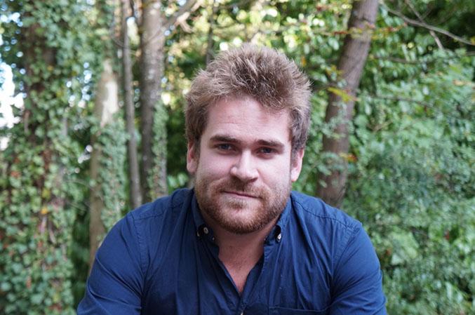 Brieuc Oger, fondateur de la société Hub-Grade, plate-forme de location de bureaux entre professionnels.