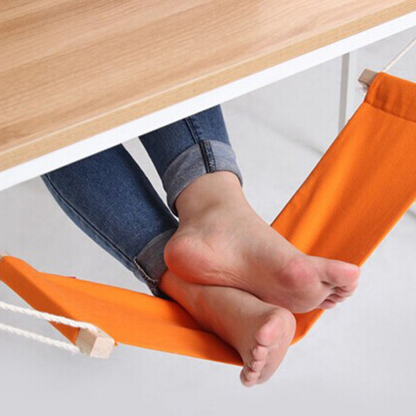 Repose-pieds design en hamac - FUUT