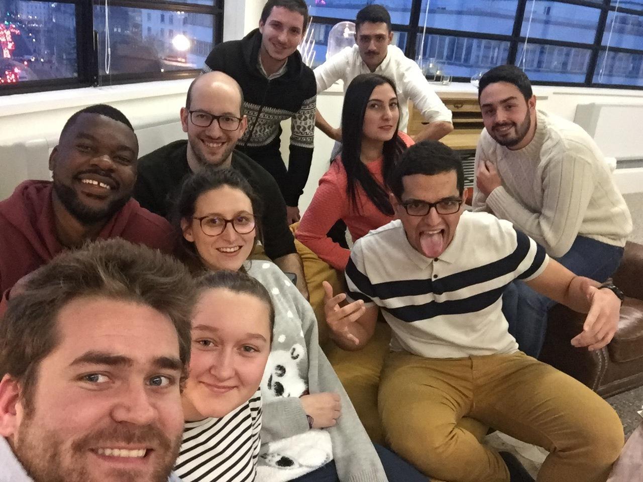 La team Hub-Grade