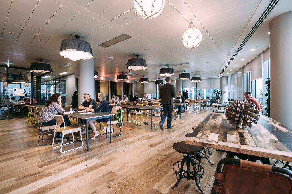 L'espace de travail idéal selon Anne Laure, Le Buvart