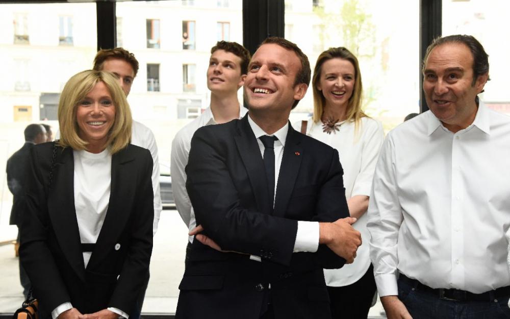 Station F : un atout de poids en Emmanuel Macron en personne
