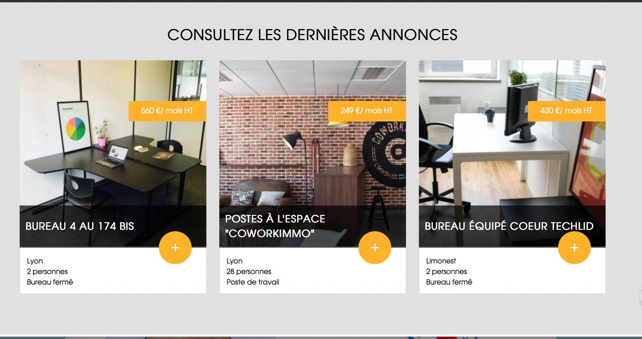 Espaces de travail : les dernières annonces sur Hub-Grade