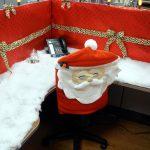 Décorer son bureau pour Noel - père noel