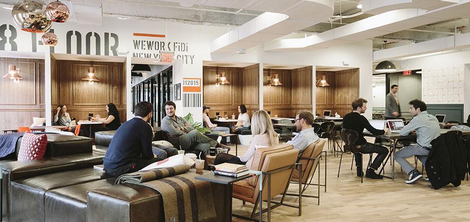 Le coliving : une tendance émergente initiée par WeWork