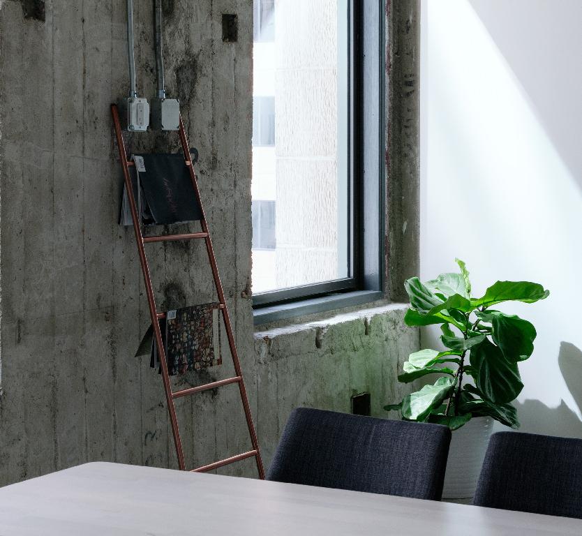 Le laiton dans un espace de travail