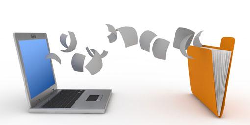 La technologie au travail : Les documents dématérialisés