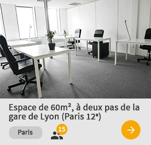 Espace de travail, bureau à paris - 60m²