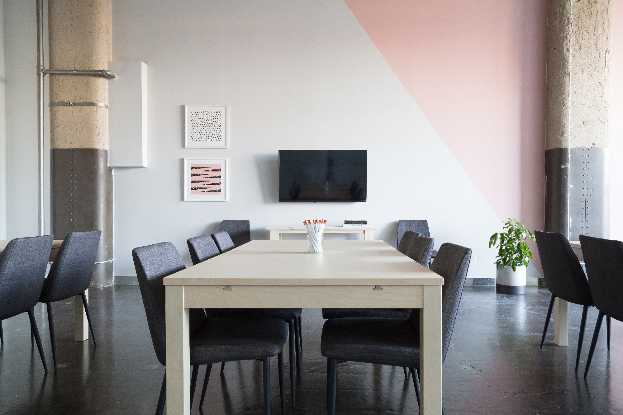 Clean desk - flex office