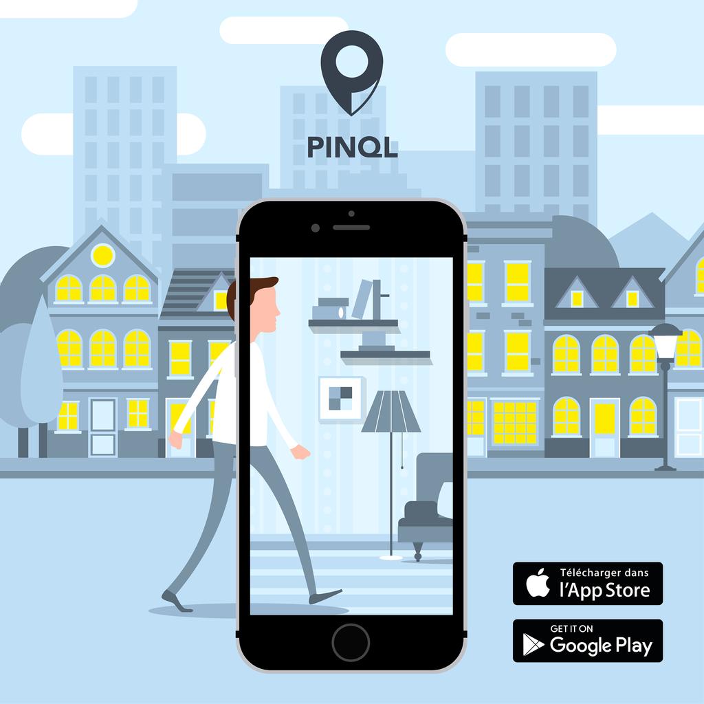 Pinql facilitateur pour la recherche d'appart