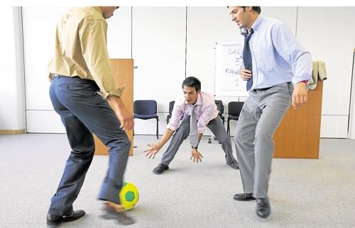 Le foot au bureau