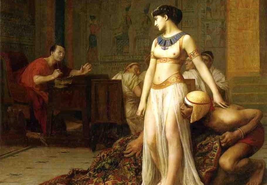 Cléopâtre et César