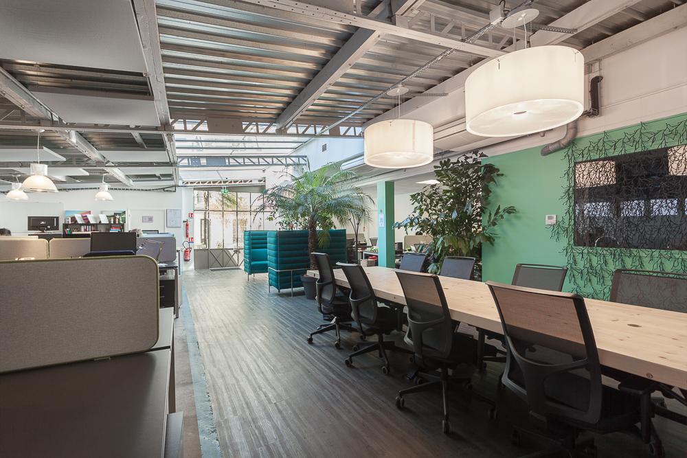 Le gymnase - coworking - Jardin des plantes - postes de travail 3