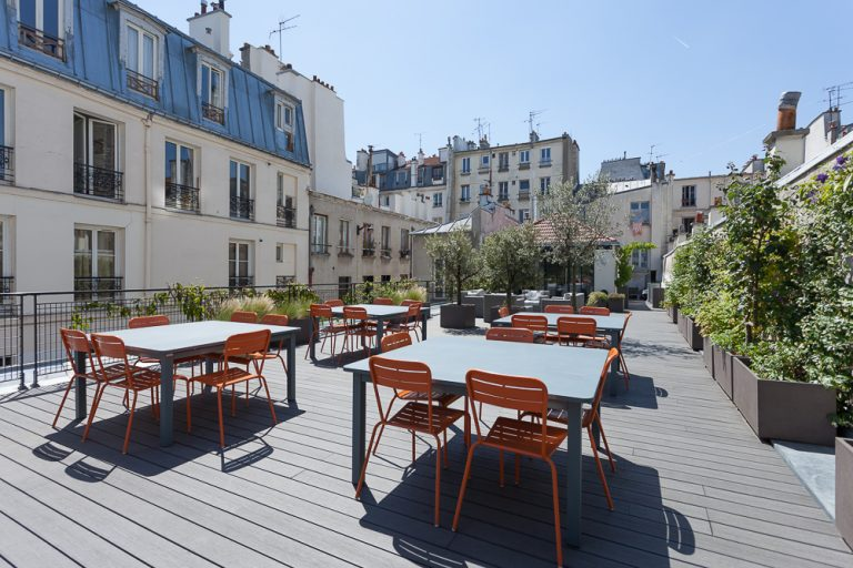 Le gymnase coworking - Terrasse 4