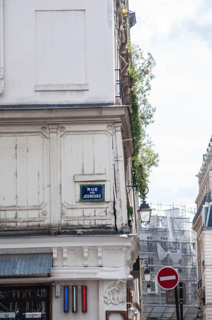 La rue des jeuneurs, nouveau siège du groupe Leboncoin